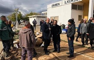 UBP Yetkilileri Girne'deki durumu yerinde inceledi