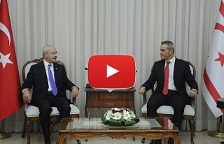 Uluçay, Kılıçdaroğlu'nu kabul etti