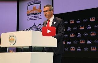 Uluçay, Parlamentolararası Kudüs Platformu konferansında...
