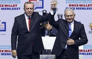 Ve açıklandı...İstanbul adayı Binali Yıldırım...