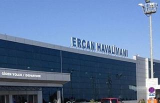 Yolcu sayısı 4 milyonu aştı. Ercan Havalimanı'nda...