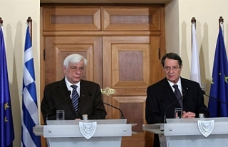 Yunan Cumhurbaşkanı Güney Kıbrıs'ta