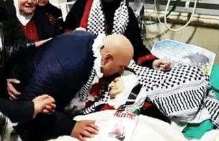 16 yılın ardından hapisten çıkan Filistinli,...