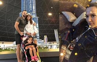 Akalın, boşandığı eşi ve kızı Hira ile Dubai'ye...