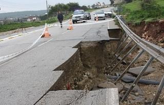 Aşırı yağışlar Karpaz'ı olumsuz etkiledi