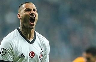 Beşiktaş'ta Quaresma depremi