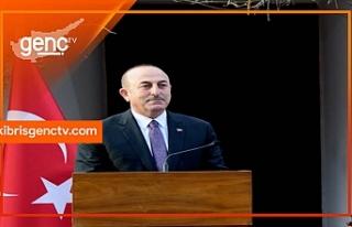 """Çavuşoğlu: """"Biz siyasi eşit, iki kesimli adil..."""