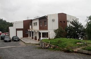 Çatalköy'de Orman Dairesi'ne ait tesis Sağlık...