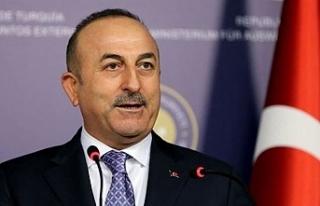 """Çavuşoğlu: """"Kıbrıs'ta sıfır asker hayal..."""