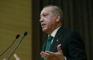 """Cumhurbaşkanı Erdoğan: """"Dünyanın 13. büyük..."""