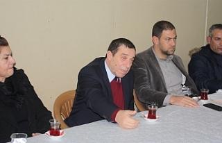 DP, Aşağı Bostancı ve Yukarı Bostancı köy örgütü...