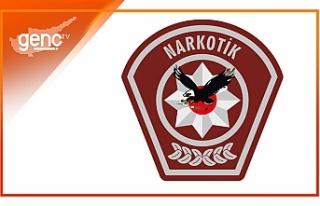Ercan'da uyuşturucu..1 kişi tutuklama