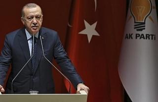 """Erdoğan'dan Denktaş'a: """"Saygı ve..."""