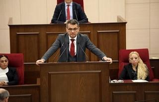 """Erhürman: """"Kıbrıs Türk halkını, halkın..."""