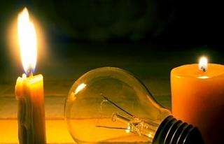Girne'de bazı bölgelerde yarın elektrik kesintisi...