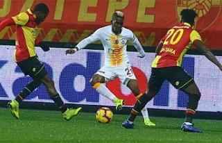 Göztepe-Galatasaray... Maçtan tek gol çıktı
