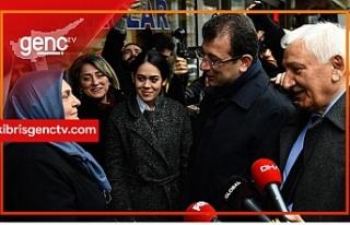 """İmamoğlu: """"Kıbrıs Anıtı hakkında Erdoğan'a..."""