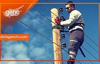 İskele ve Çatalköy bölgesinde bugün elektrik...