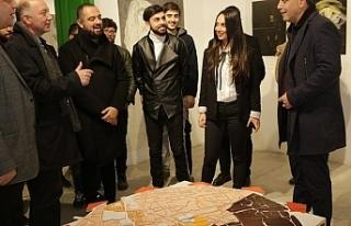 KAÜ Güzel Sanatlar Fakültesi Proje Sergisi açıldı