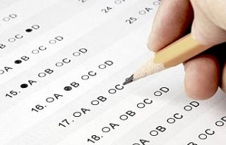 Kolejlere giriş sınavlarının birinci basamağı...