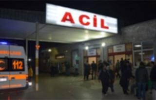 Lefkoşa'da iş kazası: 2 metre yükseklikten düştü