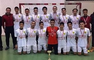 Liseler Futsalda şampiyon LTL