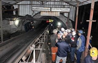 Maden ocağında göçük meydana geldi