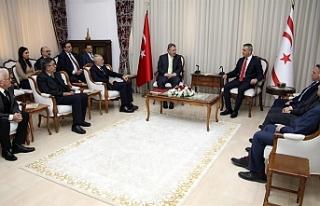 Meclis Başkanı Uluçay, Kıbrıs Üniversiteler...