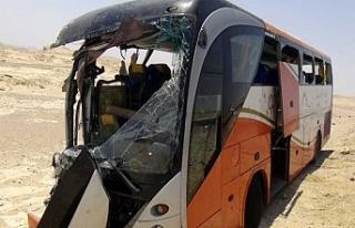 Mısır'da otobüs kazası: 10 Ölü