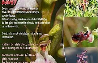 """""""Orkide Vadisi Orkide Gözlem Yürüyüşü""""nün..."""