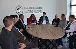 Sağlık Bakanı Filiz Besim, TIP-İŞ ziyaret etti