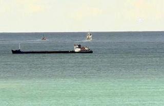 Samsun açıklarında gemi battı, 6 mürettebat sağ...