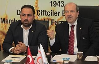 """Tatar: """"Parti olarak üreticinin yanındayız…..."""