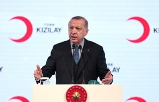 """TC Cumhurbaşkanı Erdoğan: """"Çok yakında Fırat'ın..."""