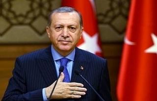 TC Cumhurbaşkanı Erdoğan, Denktaş'ı saygı...