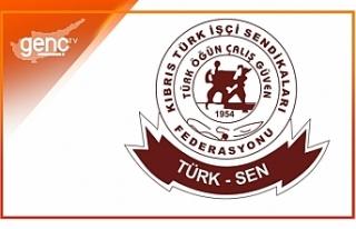 "Türk Sen: ""Asgari ücretli açlığa mahkum..."