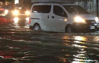Ülke genelinde etkili olan yağışlar hayatı olumsuz...