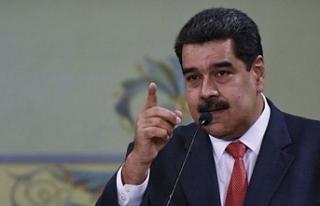 """Venezuela Devlet Başkanı Maduro:"""" ABD'ye..."""