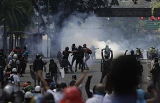 Venezuela'daki olaylarda 268 kişi gözaltına alındı