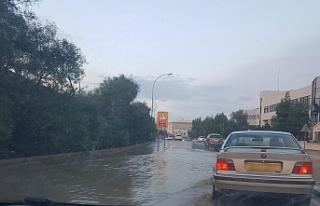 Yağışlar Güneyde de etkili oldu