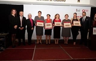 Yılın Kadın Girişimcileri Ödül Töreni'nde...
