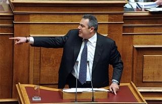 """Yunanistan'da """"hükümete destek"""" açıklamaları..."""