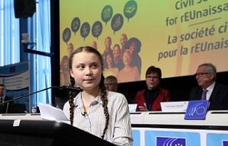 16 yaşındaki aktivist, AB liderlerine seslendi