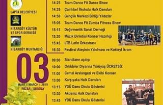9. Geleneksel Hisarköy Orkide Festivali