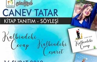 Çocuk kitabı yazarı Canev Tatar çocuklarla buluşuyor