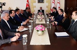 Cumhurbaşkanı Akıncı, Bakanlar Kurulu ve Meclis'i...