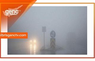 Dikkat! Ciklos'ta yoğun sis var