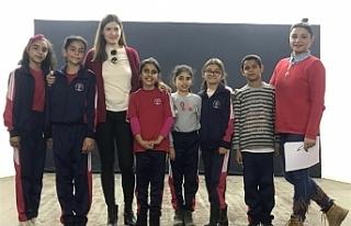 Eğitim projesi Atatürk İlkokulu'nda devam...