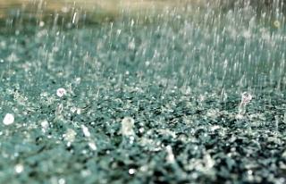 En çok yağışı 36 kg ile sipahi aldı