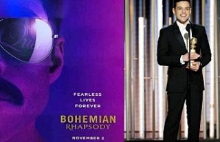 En iyi erkek oyuncu ödülünün sahibi Bohemian Rhapsody...